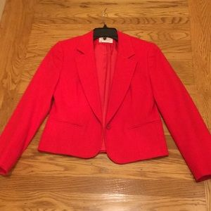Pendleton 100% wool red blazer